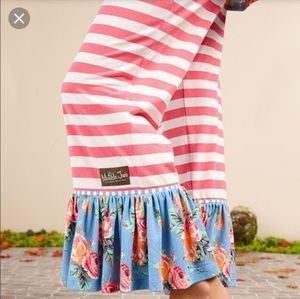 NWT Matilda Jane Peaceful Moment Ruffled Pants